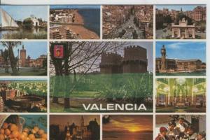 Postal 08131 :  Valencia, vistas varias