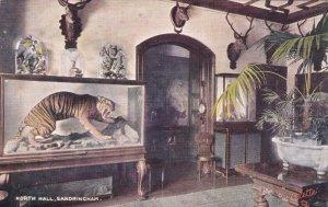 SANDRINGHAM, Norfolk, England, UK; North Hall, Sandringham House, PU-1908 ; T...