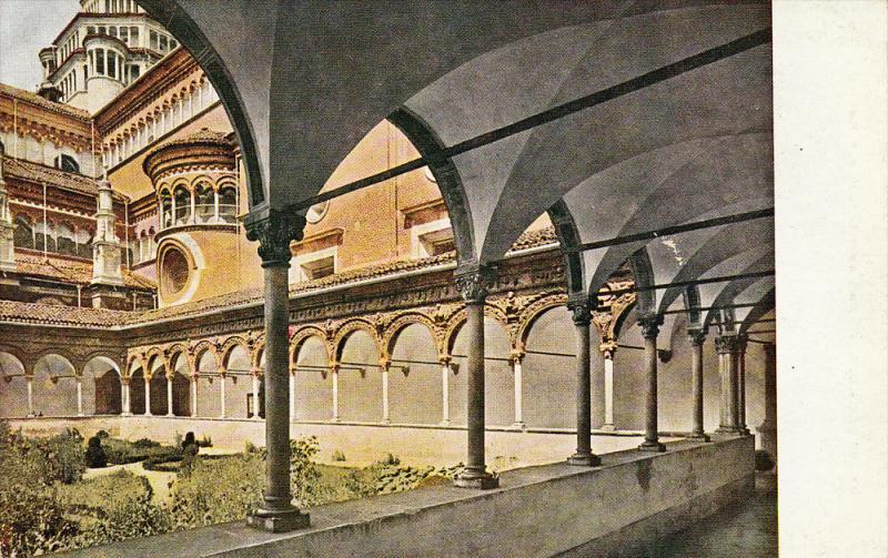 Il Chiostro, Certosa di PAVIA (Lombardy), Italy, 1900-1910s