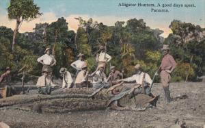 PANAMA; Alligator Hunters, A good days sport, 00-10s