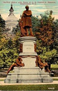 Washington D C Garfield Statue