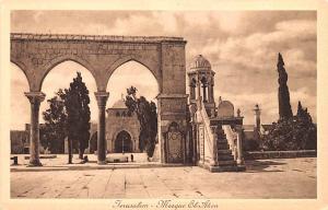 Jerusalem Israel Mosque El Aksa Jerusalem Mosque El Aksa