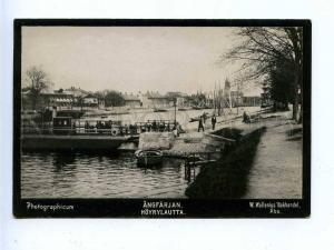 192782 FINLAND ABO steam ferry Vintage photo postcard