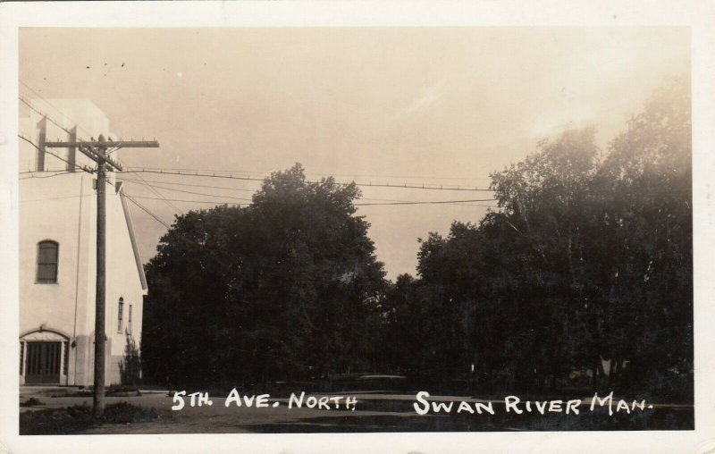 RP: SWAN RIVER , Manitoba , Canada , 1952 ;  5th Ave North