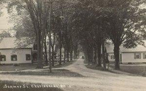 RP; CHARLESTOWN , New Hampshire , 1900-10s ; Summer Street