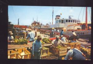 TAMPA FLORIDA FAMOUS BANANA MARKET FISHING BOAT VINTAGE