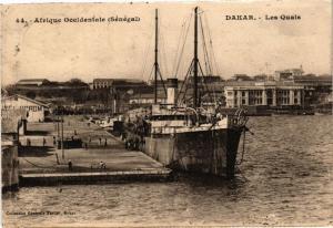CPA Senegal Fortier 44. Afrique Occidentale- Dakar-Les Quais (235221)