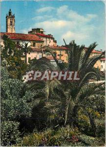 Postcard Modern Mougins (A M) Landscapes of France alt 260m