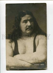 288207 PAWNEE BILL American WRESTLER WRESTLING tattoos PHOTO