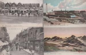 Berck Plage Patisserie Bakers Antique 4x Postcard s