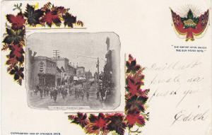 FOREST , Ontario , 1905 ; Parade on King Street