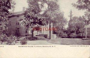 pre-1907 MIDWOOD CLUB, FLATBUSH, BROOKLYN, N. Y.