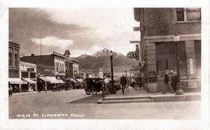 Main Street, Livingston, Montana, 1928