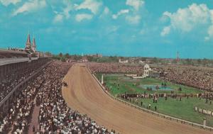 LOUISVILLE , Kentucky ,50-60s ; Churchill Downs Horse Race Track #2