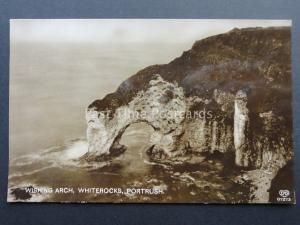 N Ireland PORTRUSH Whiterocks Wishing Arch - Old RP Postcard by EAS 01273