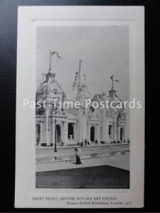 c1908 South Front British Applied Art Palace Franco - British Exhibition, London