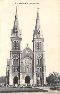 Saigon Vietnam, Viet Nam La Cathedrale Saigon La Cathedrale