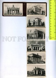 170803 Russia MOSCOW 18 photo VSKhV Exhibition VINTAGE Booklet