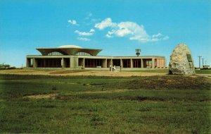 Postcard Wright memorial Museum Kill Devil Hills North Carolina