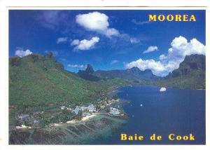 Scenic Greetings from Cook´s Bay in Moorea,40-60s