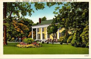 North Carolina Elizabeth City Bayside Beautiful Colonial Home