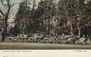 VICTORIA , B.C. , Canada , 1900-10s ; Becon Hill Park , 'Xmas Day