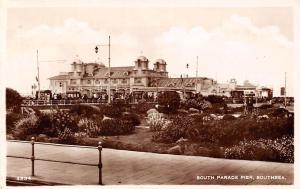 Portsmouth Southsea, South Parade Pier, real photograph