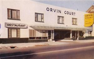 CHARLESTON SOUTH CAROLINA ORVIN COURT~194 CALHOUN ST~NO TIPPING POSTCARD c1960s