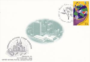 Sarasota National Stamp Exhibition 1999 United Nations Postal Administration