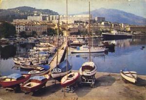 POSTAL 57480: Ajaccio Le Port La Corse