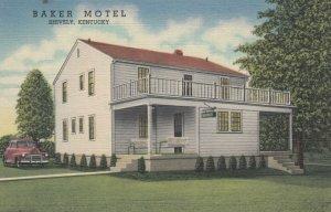 SHIVELY , Kentucky , 30-40s : Baker Motel