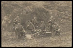 Germany 1919 Grenzschutz Ost Freikorps Seidenburg Goehe Border Wars Feldpo 86992
