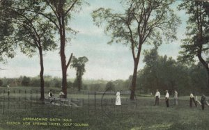 FRENCH LICK, Indiana, 1914; Sixth Hole, French Lick Springs Hotel Golf Course