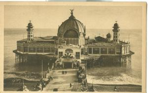 Nice, Palais de la Jetee, early 1900s unused Postcard CPA