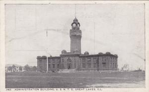 Administration Building, U. S. N. T. S. Great Lakes, Illinois, 10-20s