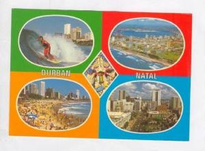 MULTIVIEW: Surfer & Other Sights around Durban,South Africa and Natal,South A...