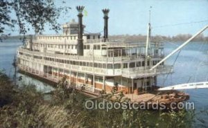 Reminder Of Days Gone By Steamboat, Ship Unused