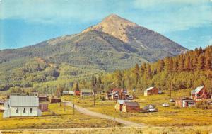 Hahn's Peak The Town Between Steamboat Springs & Craig CO Postcard
