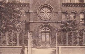 Belgium Luingne Pensionnat des Soeurs de St Charles Facade 1938