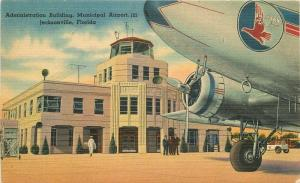 Administration Buildings Aircraft 1930s Airport Jacksonville Florida 7903
