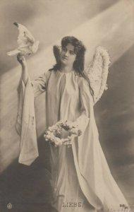 RP: Angel with bird , 1907