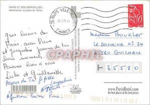 Old Postcard Paris and Wonders Montmartre Place du Tertre