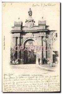 Old Postcard Tarascon La Porte St Jean