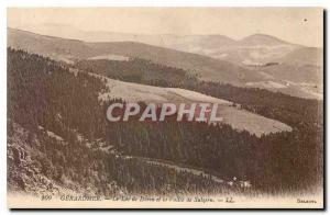 Old Postcard Gerardmer Lake Daren and Vallee Sulzern