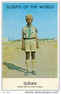 Boy Scouts of the World, SUDAN SCOUTS, 1968