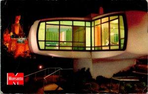 Anaheim CA Disneyland CA Monsanto's Home of Future Postcard used (20113)