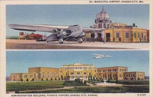 Municipal Airort Administration Building Fairfax Airpor Kansas City Kansas Mu...