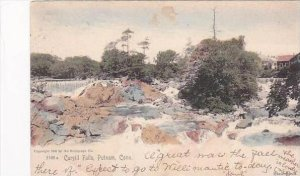 Connecticut Putnam Cargill Falls 1905 Rotograph