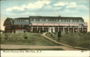 Glen Cove Long Island NY Nassau Country Club c1910 Postcard