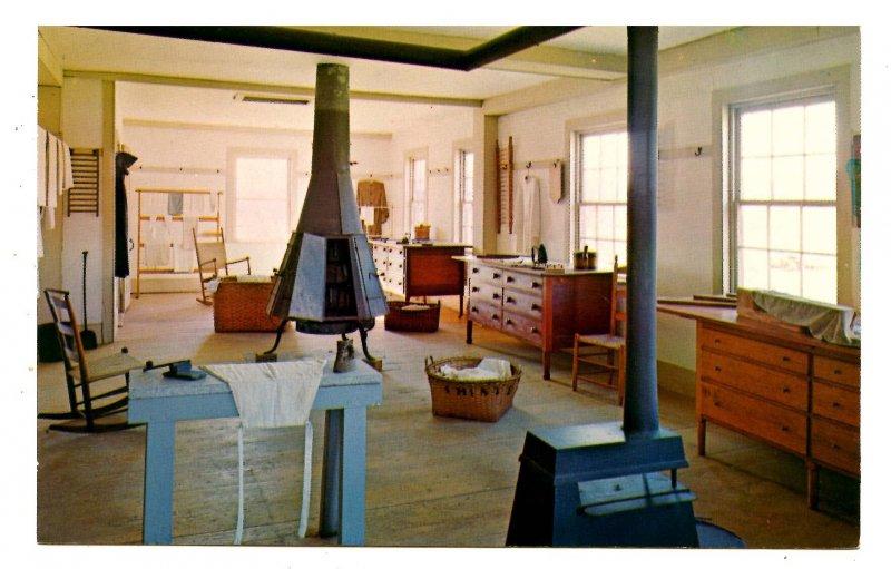 MA - Hancock Shaker Village. Sisters' Ironing Room